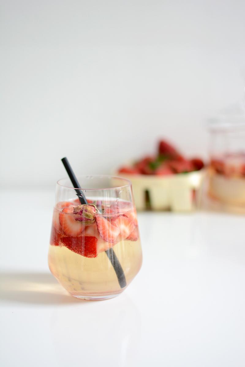 Erdbeer-Bowle fertig |welovehandmade