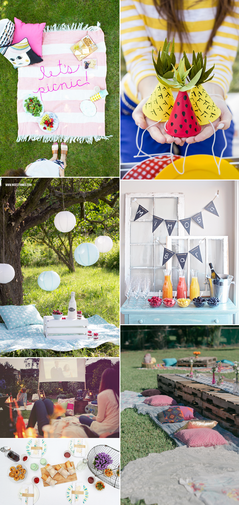 Picknick-Inspirationen | we love handmade