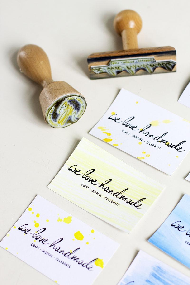 visitenkarten DIY |we love handmade