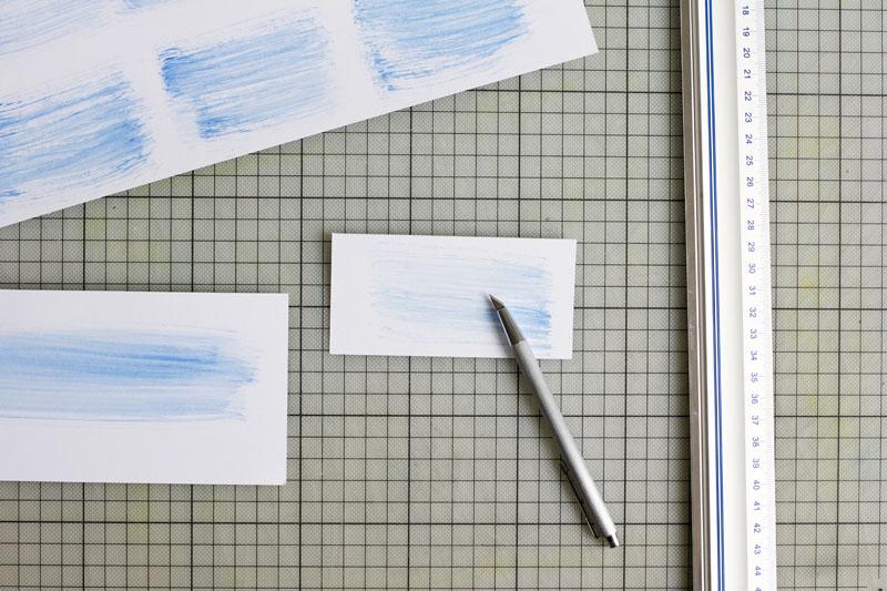 Visitenkarten schneiden |we love handmade