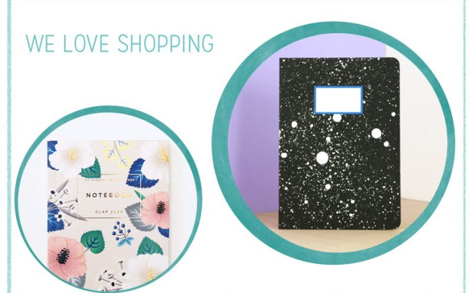 we love Shopping Notizbuch   we love handmade