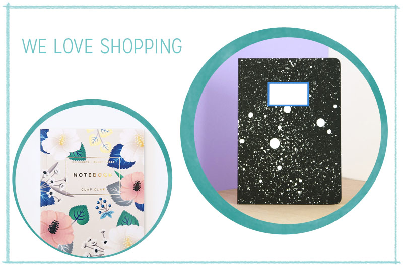 we love Shopping Notizbuch | we love handmade