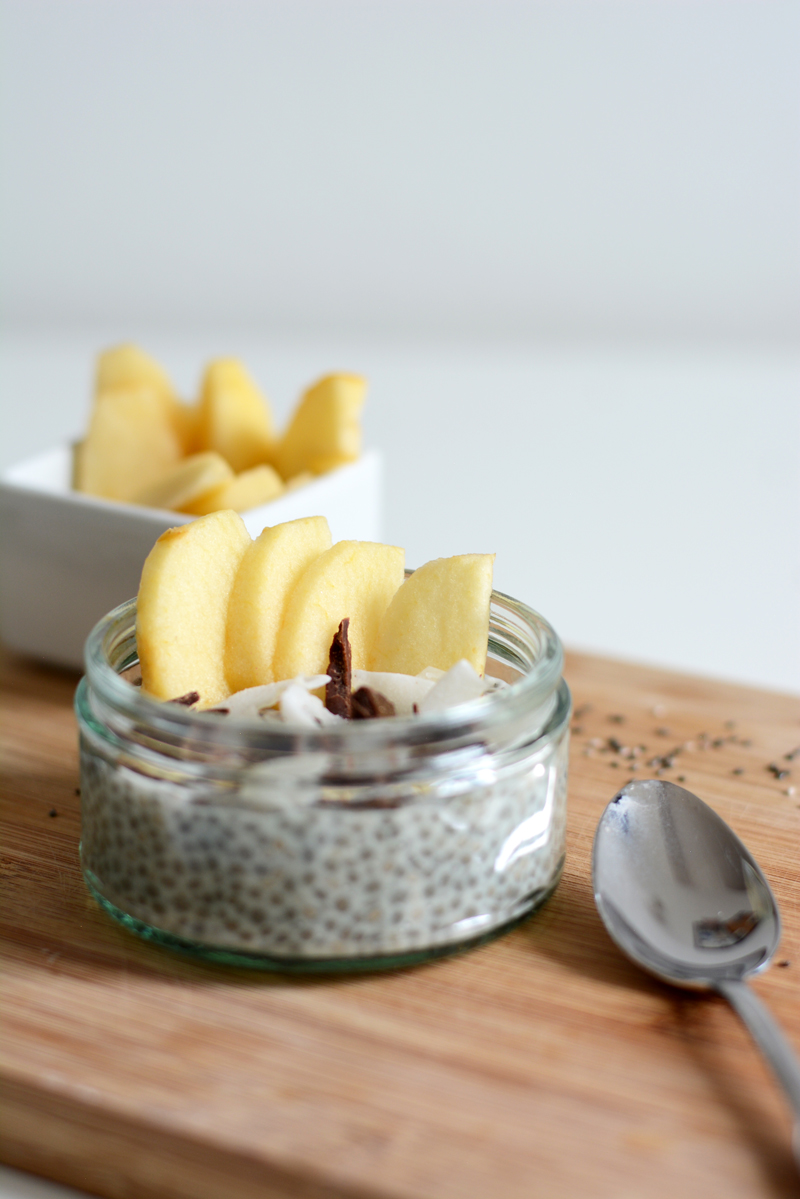 Chia-Kokos-Pudding | we love handmade