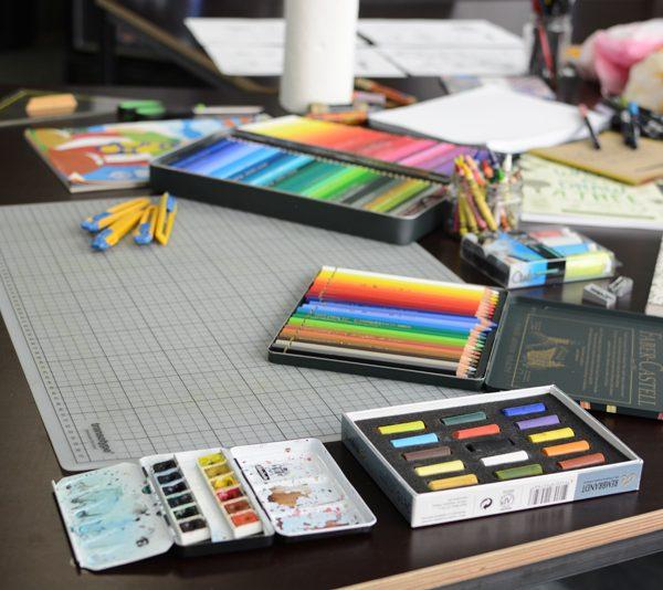 Handlettering-WS Materialien  welovehandmade