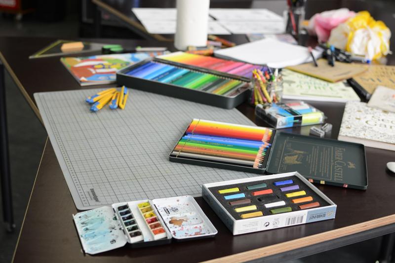 Handlettering-WS Materialien |welovehandmade