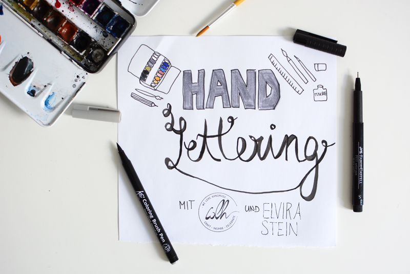 Handlettering-Workshop | we love handmade