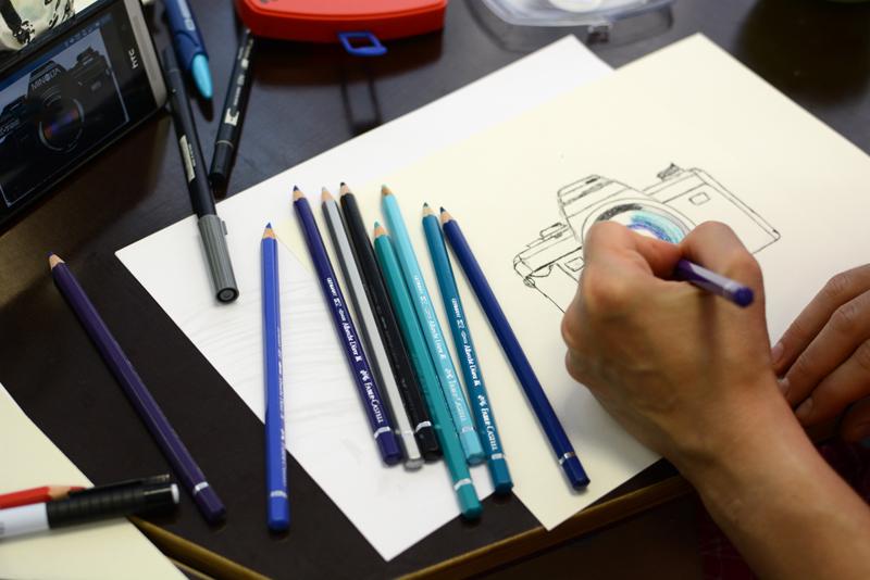 Illustrations-WS Aquarellstifte |welovehandmade