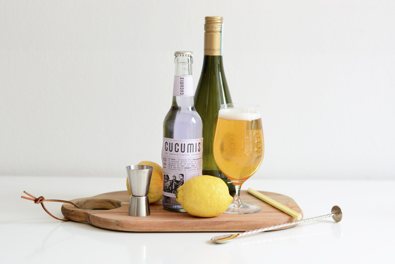 Lavendel-Bier-Cocktail Zutaten | we love handmade