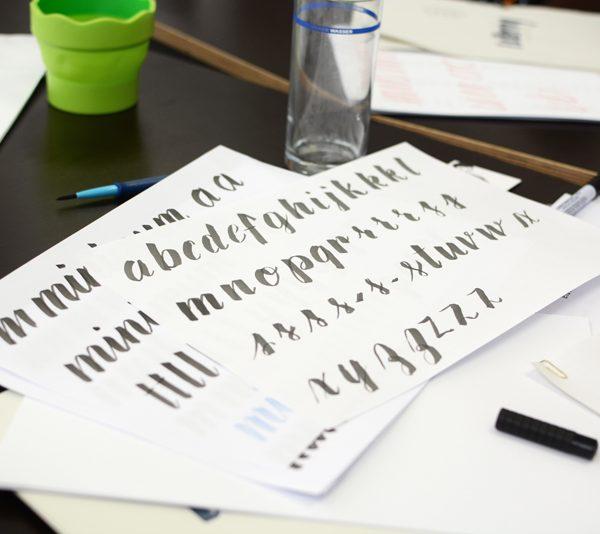 Lettering-Workshop |welovehandmade