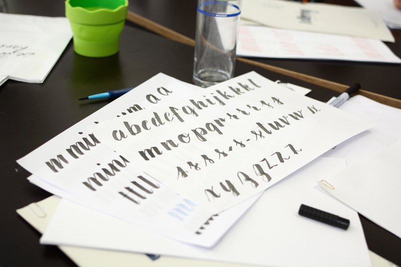 Lettering-Workshop | welovehandmade