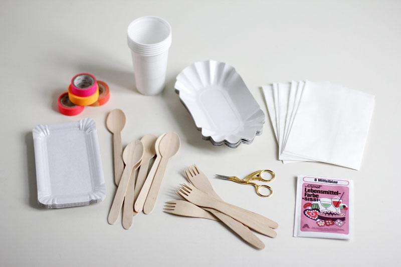 Picknick-Set Materialien |we love handmade