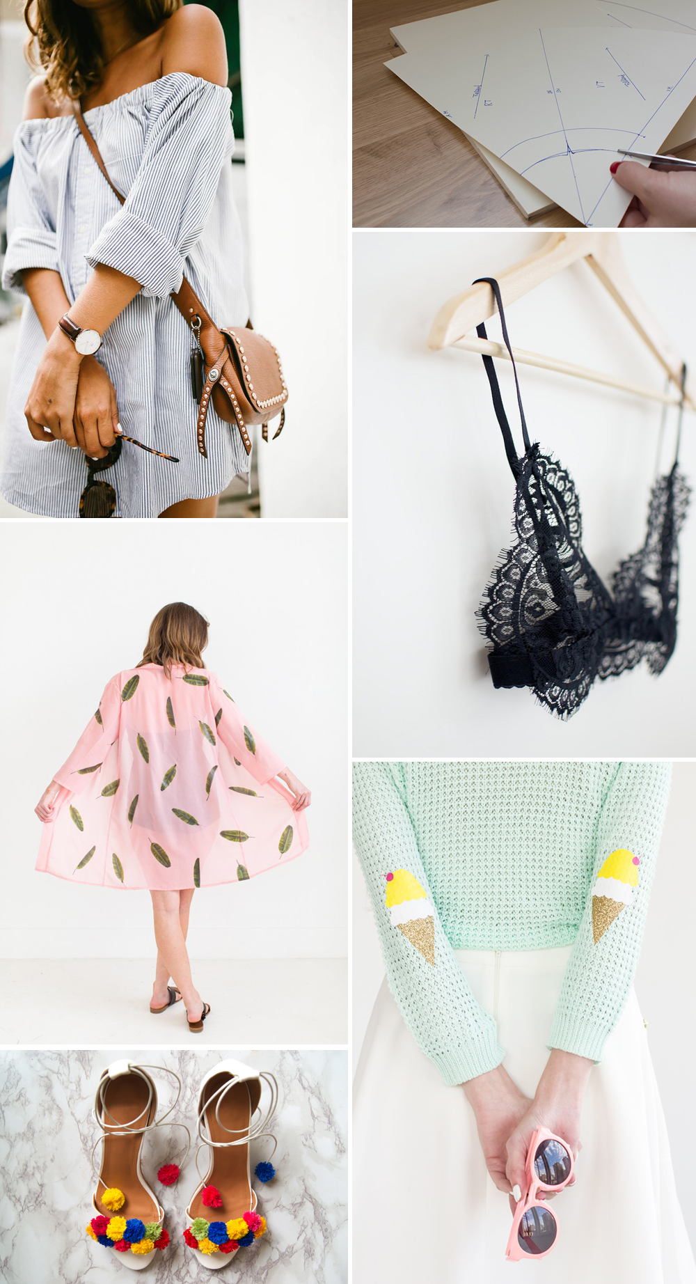 Summer Fashion-DIYs | we love handmade