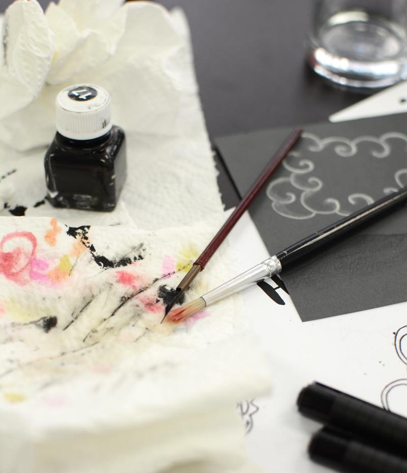 mit Tusche zeichnen |welovehandmade