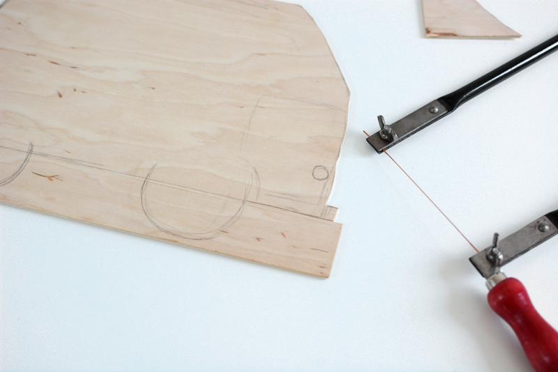 VW: Spieletafel aussägen |we love handmade