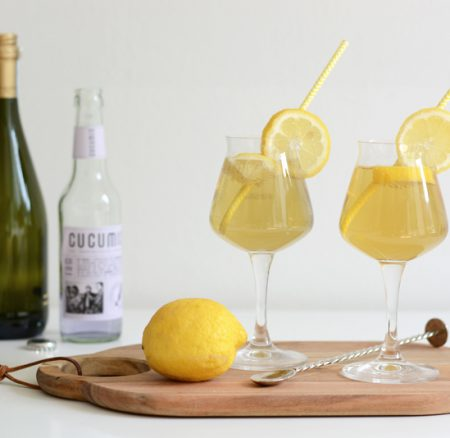 Drinks: Zitroniger Lavendel-Bier-Cocktail