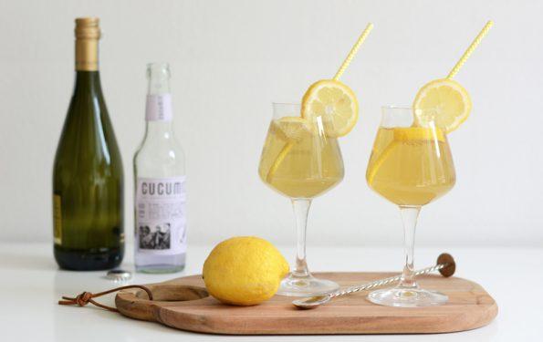 Zitronen-Lavendel-Bier-Cocktail Rezept   we love handmade