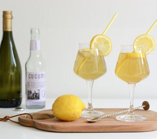 Zitronen-Lavendel-Bier-Cocktail Rezept | we love handmade