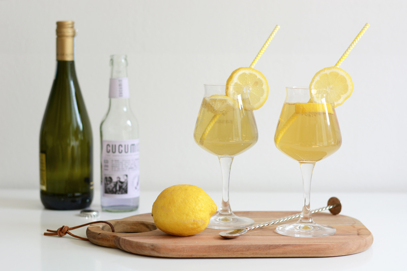 Zitronen-Lavendel-Bier-Cocktail Rezept | we love handmade