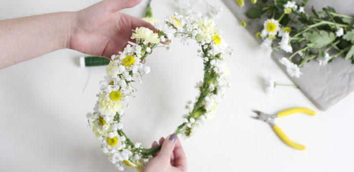 DIY: Blumenkränze