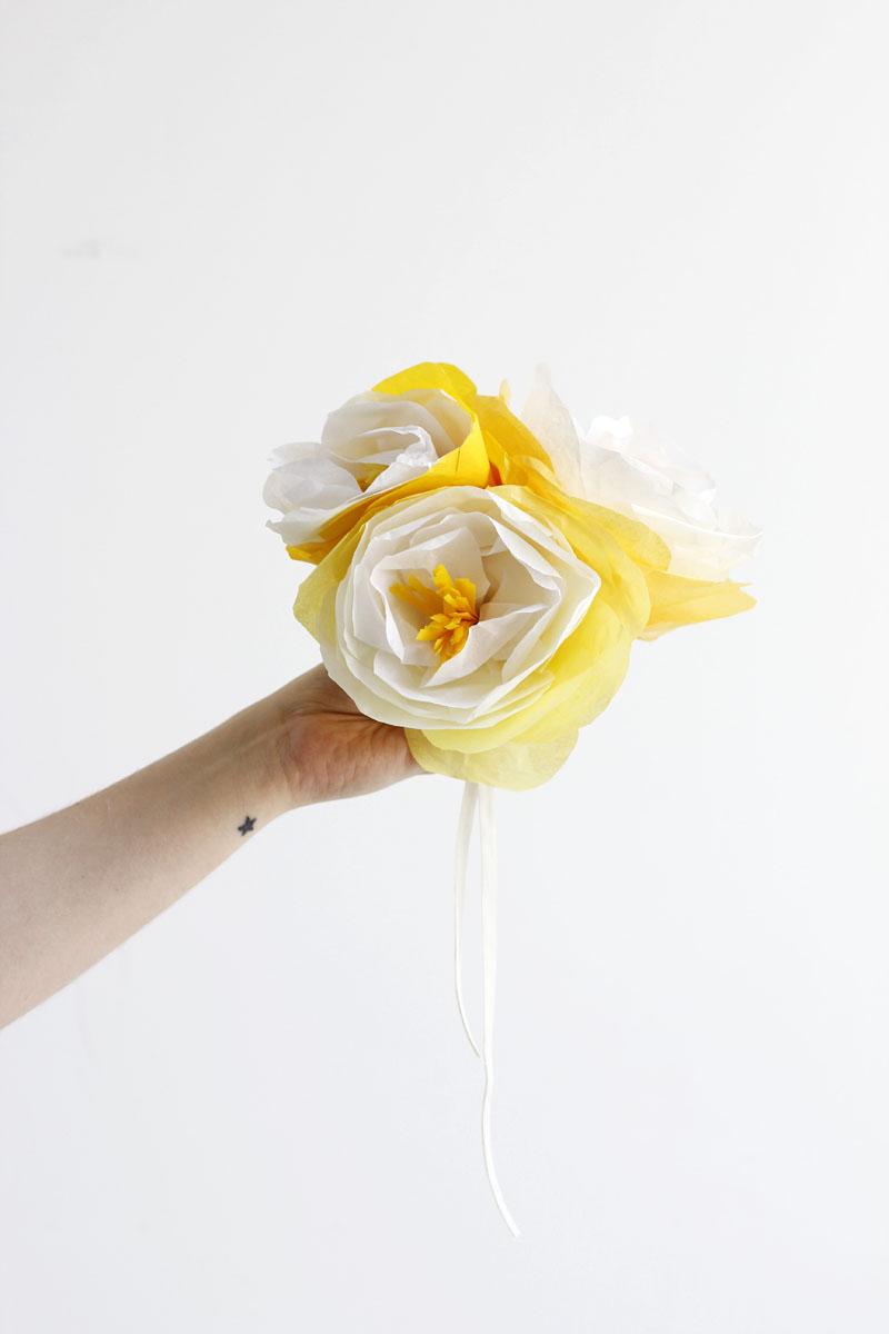 papierblumen selber machen |we love handmade