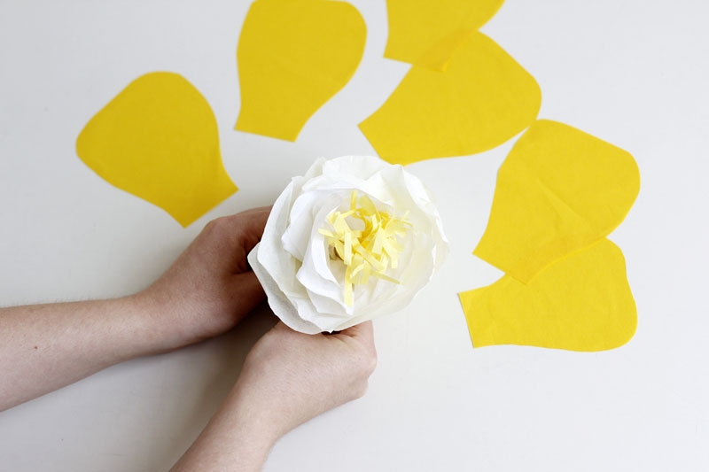 papierblumen falten | we love handmade