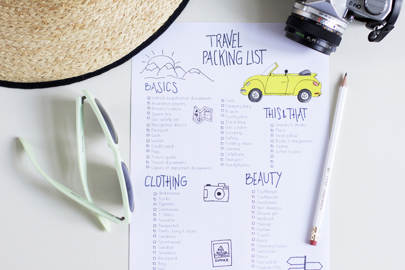Packliste: Feebie | welovehandmade