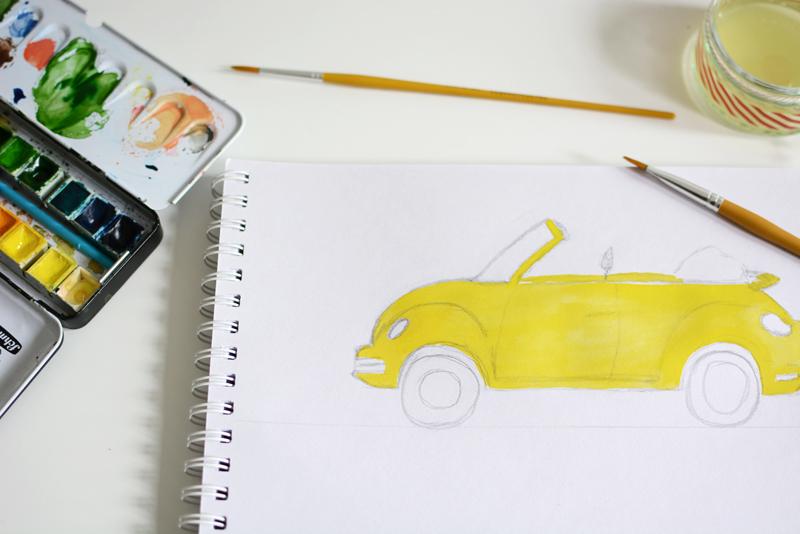 Packliste zeichnen | we love handmade