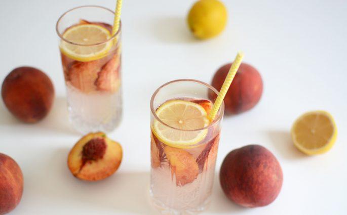Peachy Drink | we love handmade