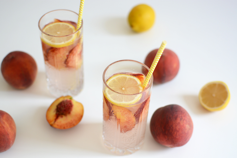 Peachy Drink | we love handmade