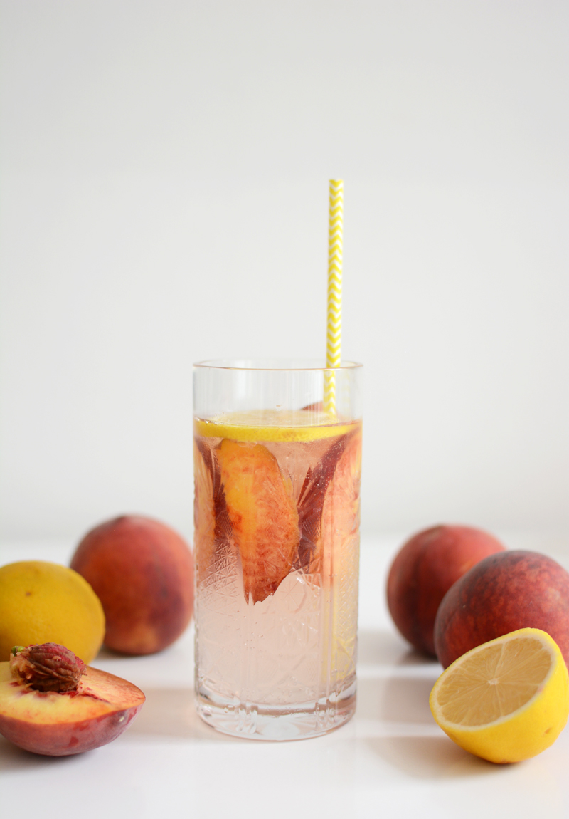 Peachy Gin Recipe | we love handmade