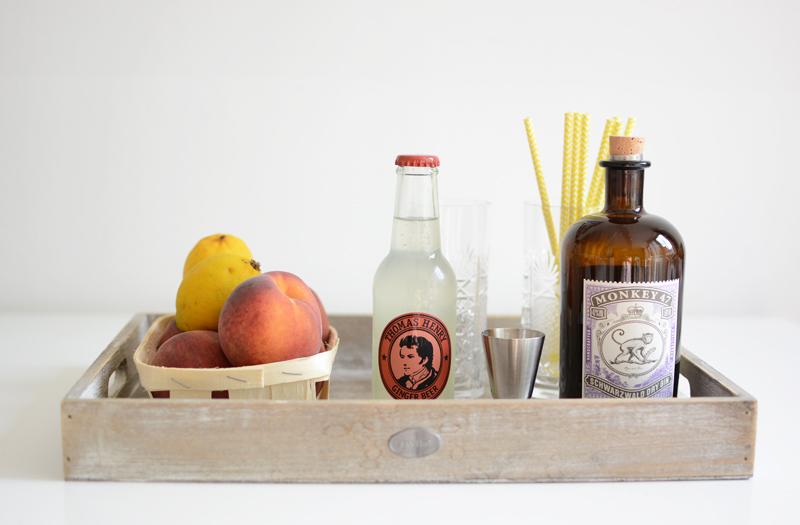 Peachy-Gin Zutaten |we love handmade