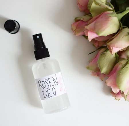 Beauty-DIY: Rosiger Deospray