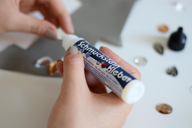 Schmucksteine kleben |we love handmade