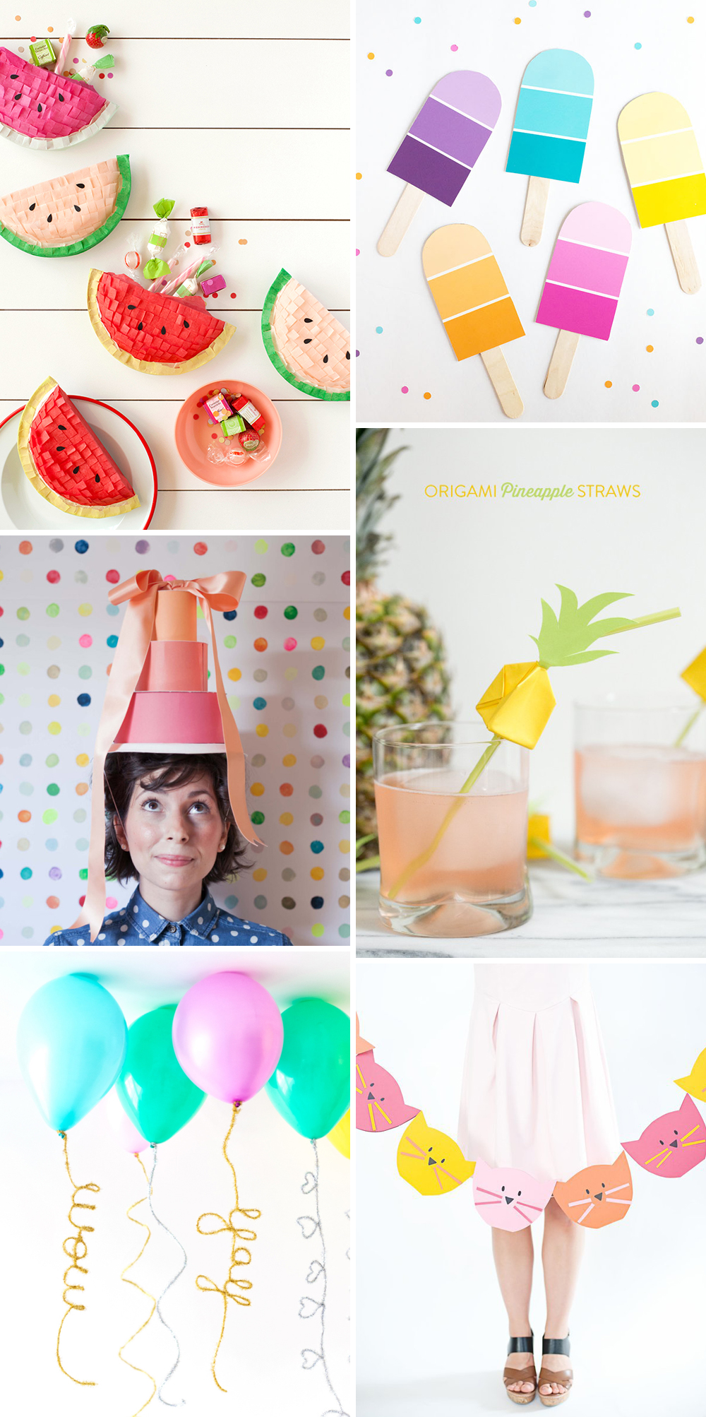 we love Inspiration Party Accessoires | we love handmade