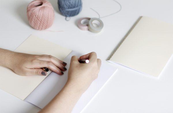 Notizhefte binden |we love handmade