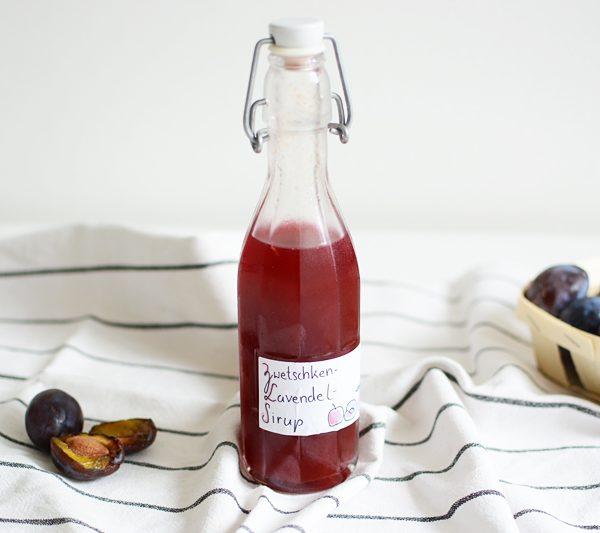 Zwetschken-Lavendel-Sirup | we love handmade