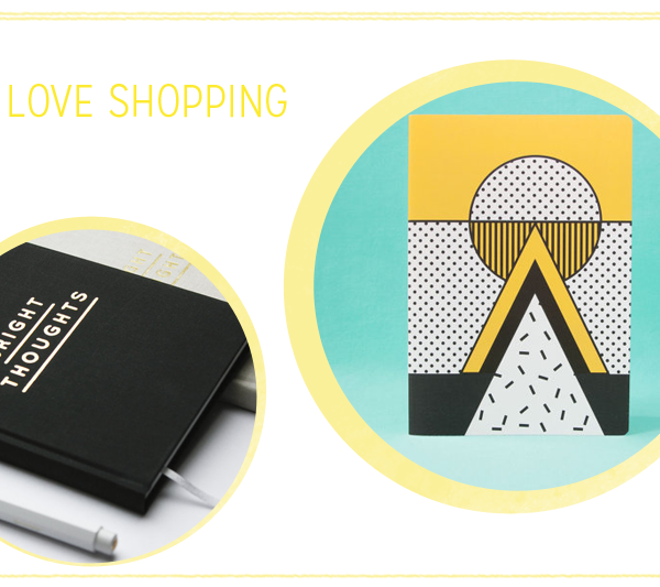 we love shopping: Notizhefte  we love handmade