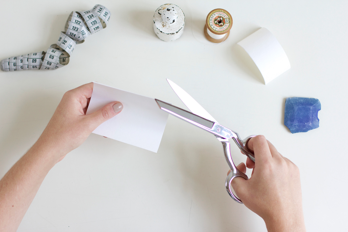 Mini-Geldbörse ausschneiden  we love handmade