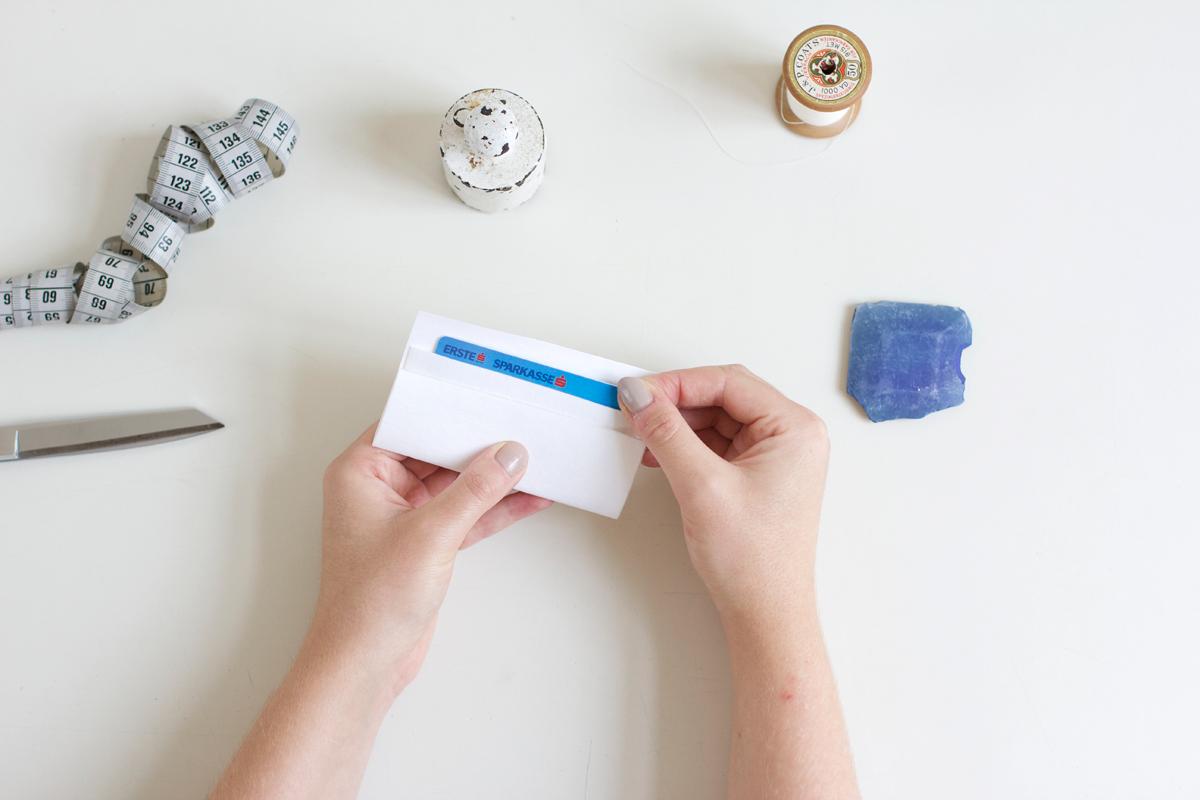 Mini-Geldbörse nähen |we love handmade