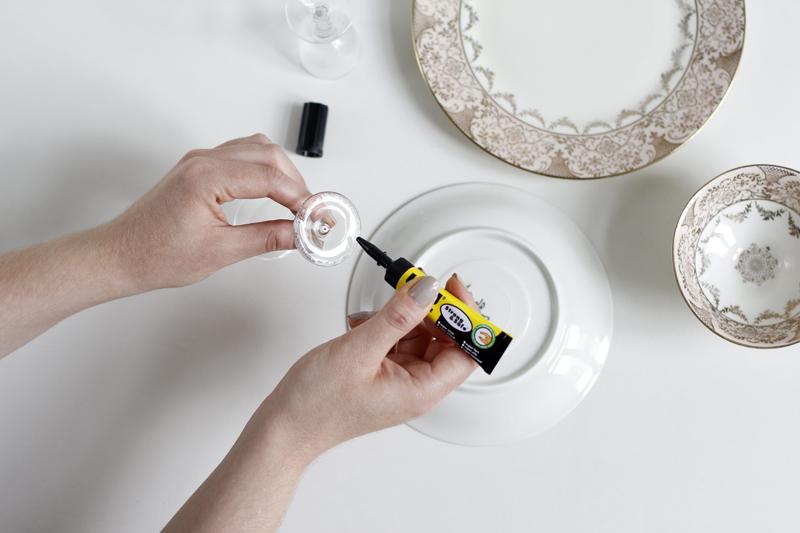 Etagere kleben: DIY | we love handmade