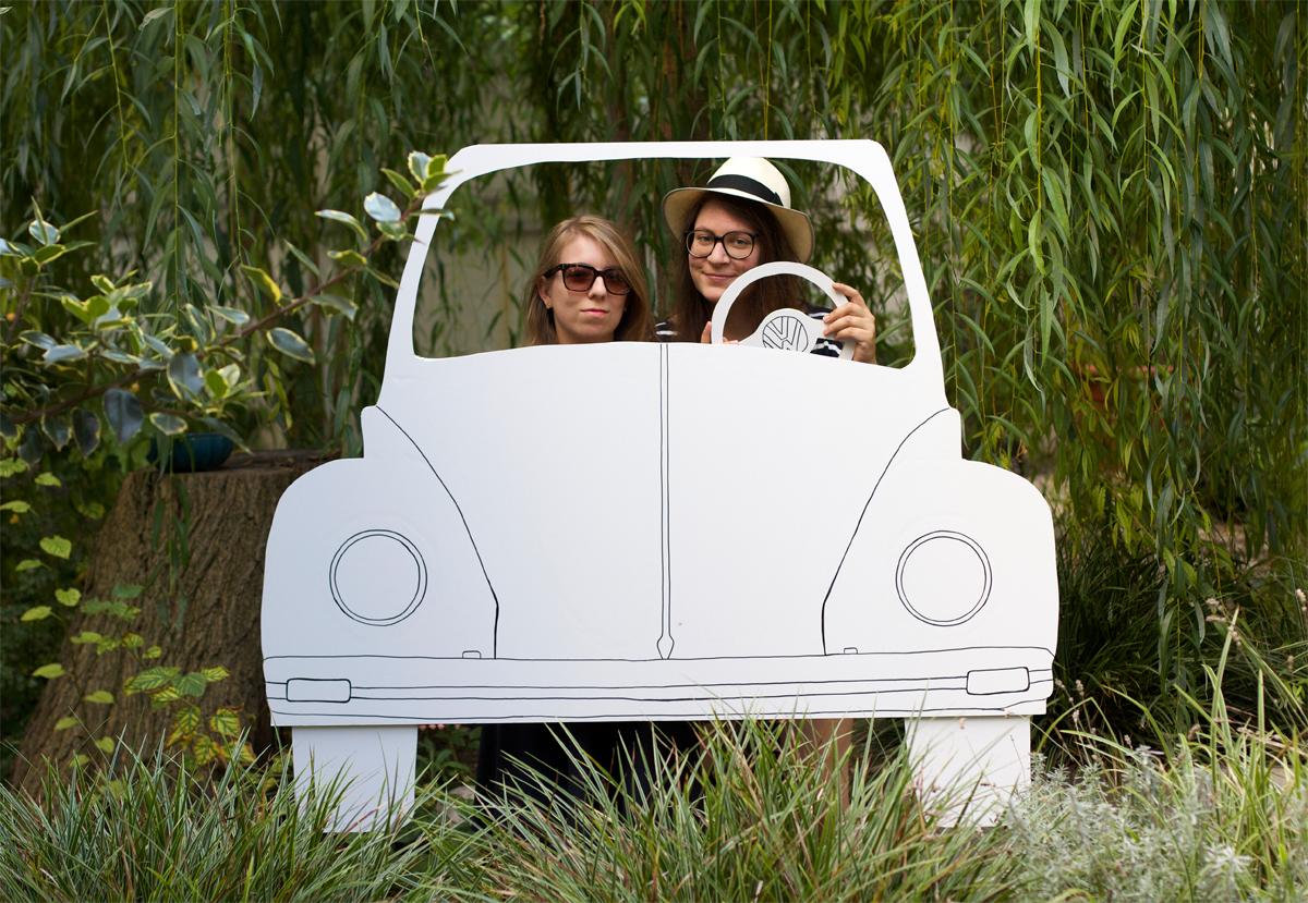 Diy Car Photo Booth Post Sponsored By Volkswagen We Love Handmade