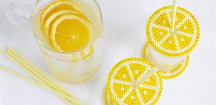 DIY: Untersetzer und Getränkeschutzdeckel aus Bügelperlen