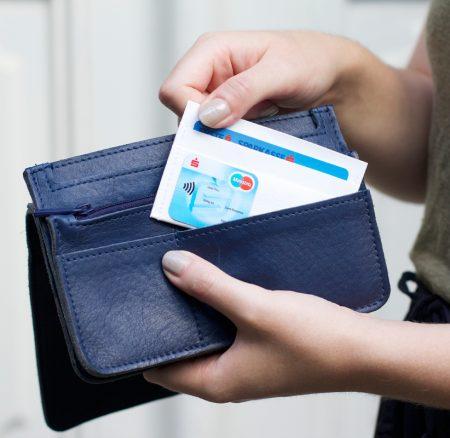 DIY: Mini-Geldbörse