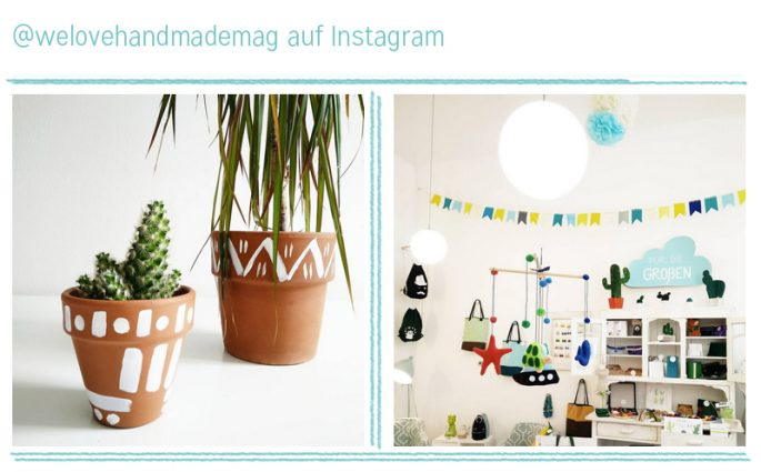 we love Instagram August 2016 | we love handmade
