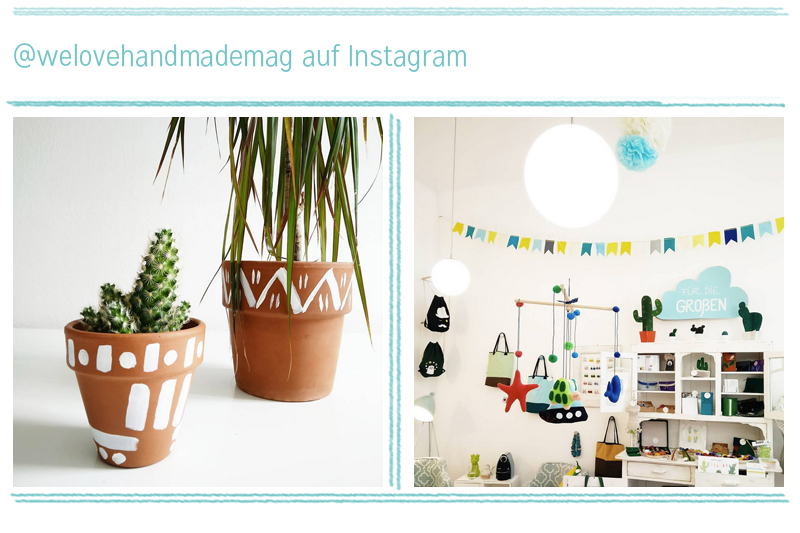 we love Instagram August 2016 | we love handmade