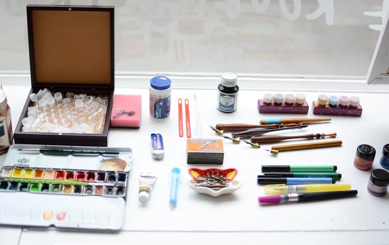 kalligraphie-materialien | we love handmade