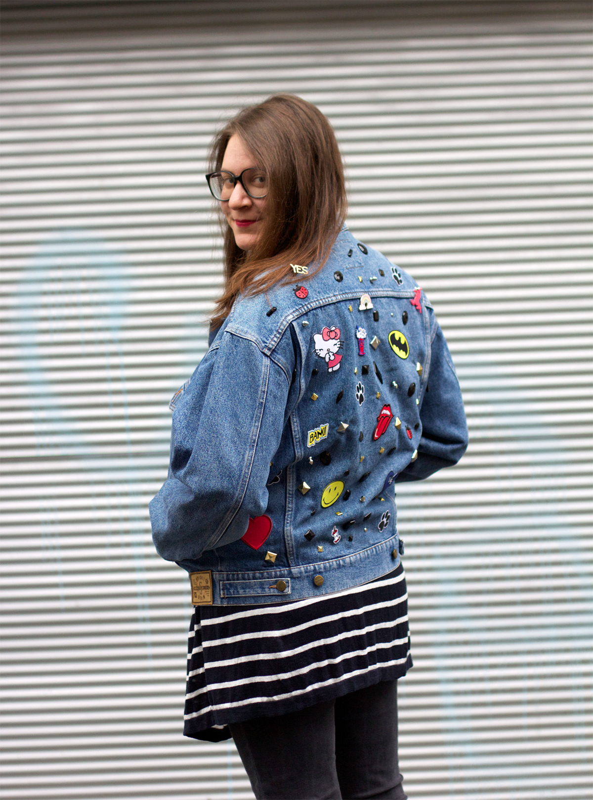 jeansjacke-upcycling | we love handmade