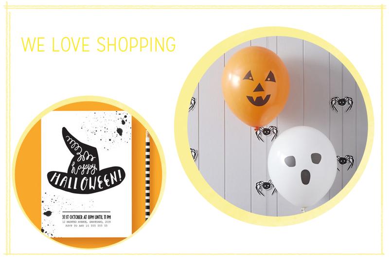we love shopping: halloween