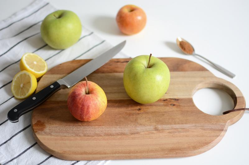 Apfelchips Zutaten | we love handmade