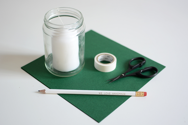 Windlicht Material | we love handmade